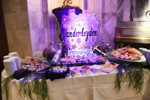 Buffet Table at Vanderheyden Hall 185th Anniversary Gala at 90 State St. Albany, NY